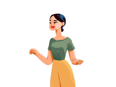 Character Design art direction people illustration design girl character design