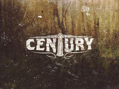 Century - Band Logo band logo identity graphic design century album art music metal grunge texture forest nature outdoors typography type dust