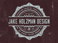 Jake Holzman Design - Badge/Logo