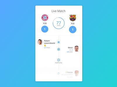 Day 026 - Live Match bayern barcelona match game live live game live match soccer football