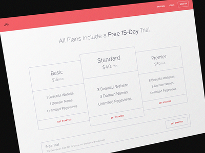 Pricing Plans marketing plans pricing ux packages