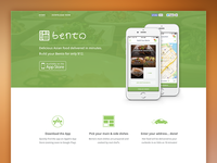 Bento Food Delivery Website