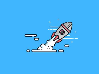 Increase your popularity illustration popularity rocket web tool seo
