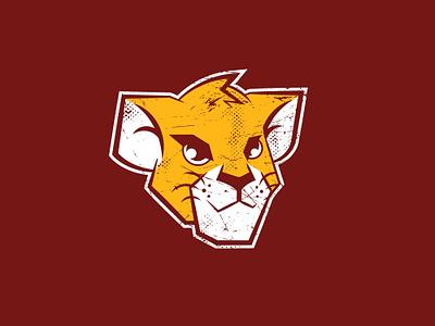 Lion Cub Logo vector houston cubs lions tshirt art logo cartooning illustration