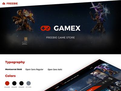 "Freebie Game Store ""GAMEX"""