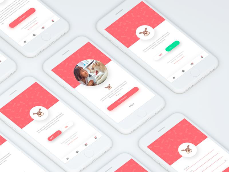 Dog Insurance App mobileui ui appui
