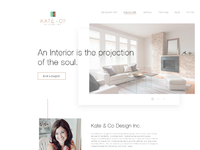 Home landing page
