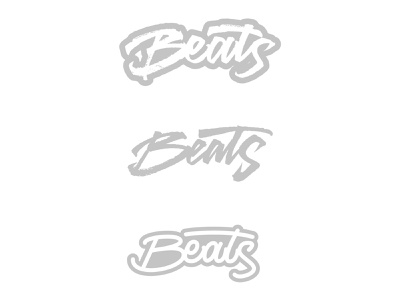 Beats - Lettering hiphop adobe illustrator vector lettering art lettering logo handmade logo letters brushpen calligraphy lettering type typography