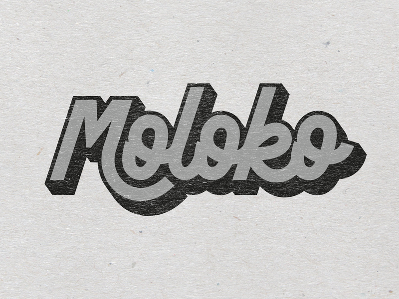 Moloko handmade lettering art letters type lettering typography