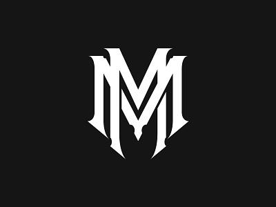 MM branding logo monogram typography