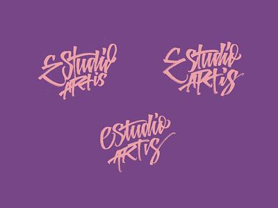 Estudio Artis urban art streetart collective streetartist letters handmade logo type calligraphy typography lettering