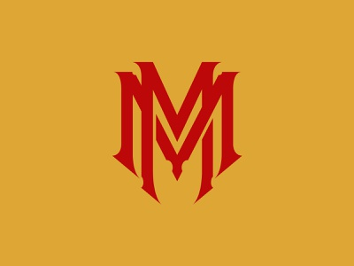 MM branding apparel type letters logo monogram lettering typography