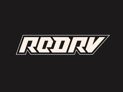 RODRV producer beats lettering logo type typography