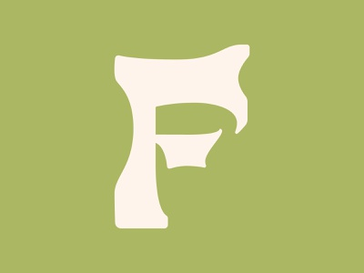 F display type experimental branding graphic design logo type typography lettering