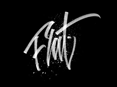 Hand Made Font- Freestyle Calligraphy Project