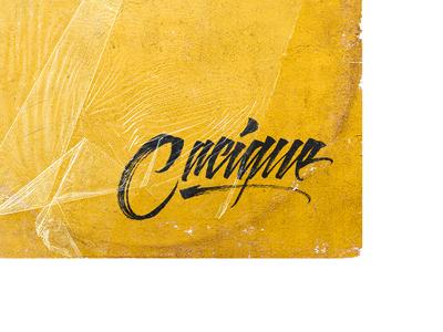 Cacique - Trap Artist - Lettering