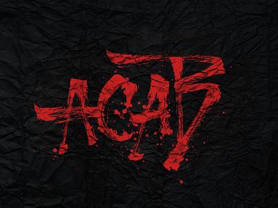 ACAB typography art typedesign type art calligraphy and lettering artist calligraphy logo calligraffiti calligraphy artist lettering artist lettering logo lettering art texture sketch handmade music letters brushpen calligraphy type lettering typography