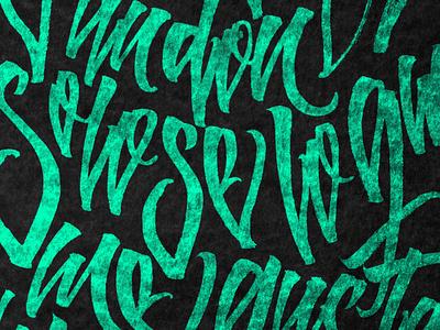 Lettering Pattern textured pattern art type art lettering artist lettering art pattern calligraffiti texture handmade design letters brushpen type calligraphy lettering typography