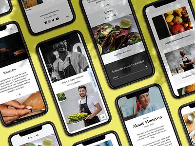 Carousel London's New Website design branding web design uxdesign