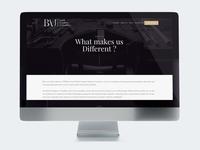 British Academy of Jewellery - Web Design