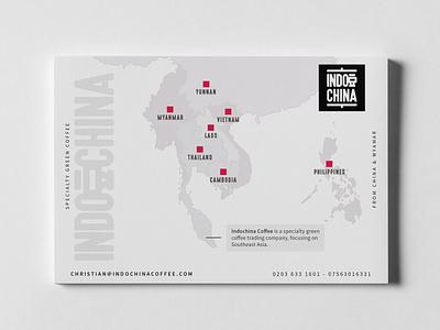 Branding and Logo for Indochina Coffee logo typography ux web design branding design