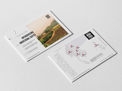 Logo and Branding for Indochina Coffee typography logo website web design branding ux design