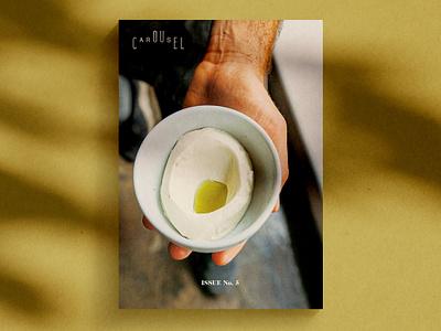Carousel magazine design - Issue 5 editorial design editorial art magazine design magazine cover logo branding ux design