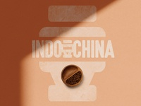 Indochina Coffee's logo design