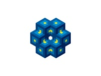 Intersecting Cubes Logo