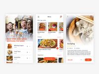 Daily UI #4 - Food Ordering Design