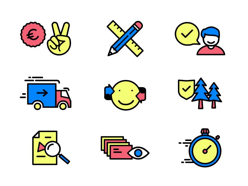 CMYK Icons