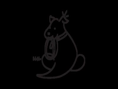 Doggie business logo