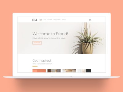 Frond Austin Website Re-Design