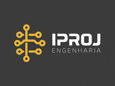 Iproj Engeharia - Icon + Typography
