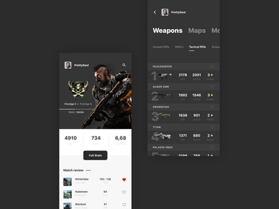 Game Profile / iOS App apex branding typography illustration logo proxima movie marvel game cyberpunk ux minimalism minimal landing design landing ui heroscreen web mainpage design