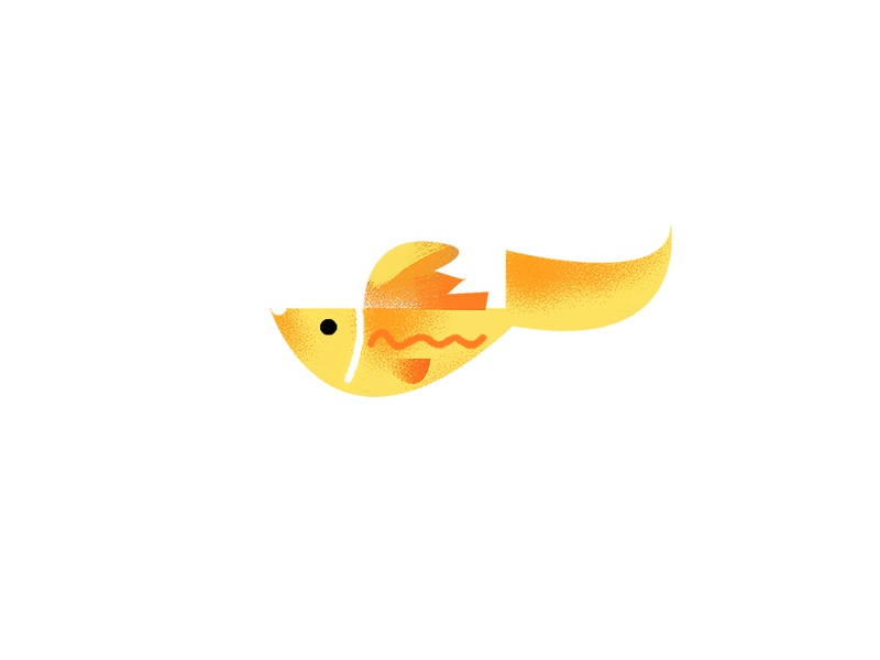 Fish texture vector fish logo color fish