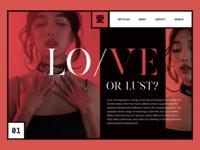 LO/VE Web Concept