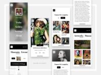 DailyArt App Concept