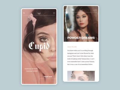 Cupid Mobile Blog