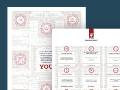Folder Design For Indiana University Bloomington