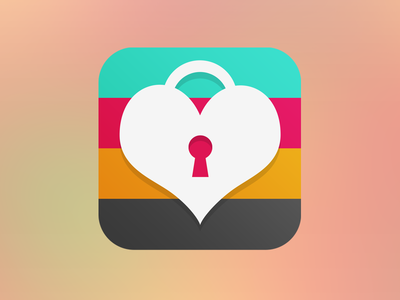 LoveLocked app icon