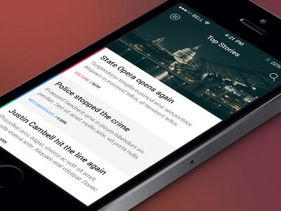 News app WIP