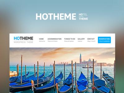 Freebie PSD + HTML + Invitation: Hotheme Wordpress Theme