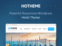 Free Powerful Hotel WordPress Theme