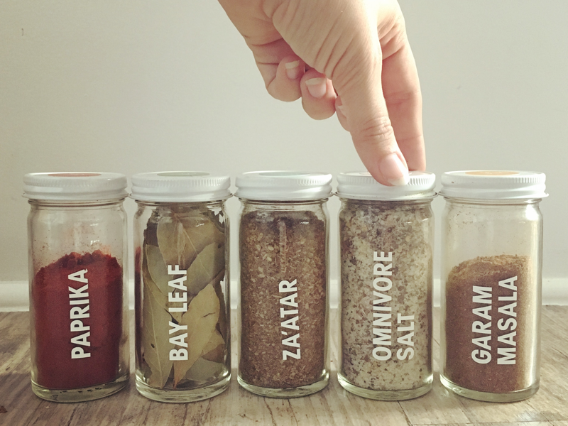 Redesign of everyday spices