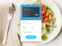 Daily Ui #02. Credit Card Checkout