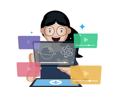 Free lectures! surprised learning app toppr videos kids studies education
