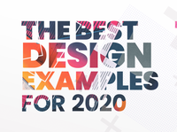 The Best Design Examples For 2020 Part 1