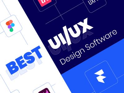 The Best UI and UX Design Software Options: Comparison figma invision adobe xd sketchapp design ux design ui desgin ux ui