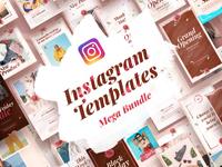 Instagram Templates Mega Bundle